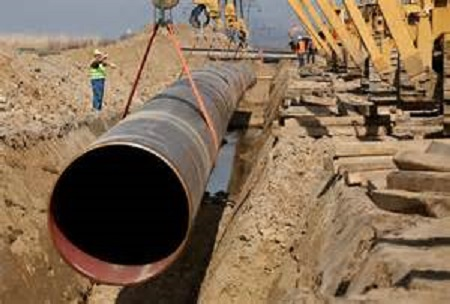 oil pipe construction